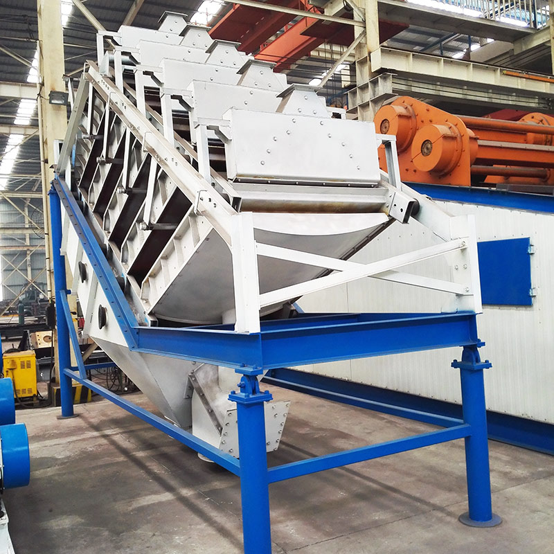 Laminated high-frequency vibration fine screen for mining