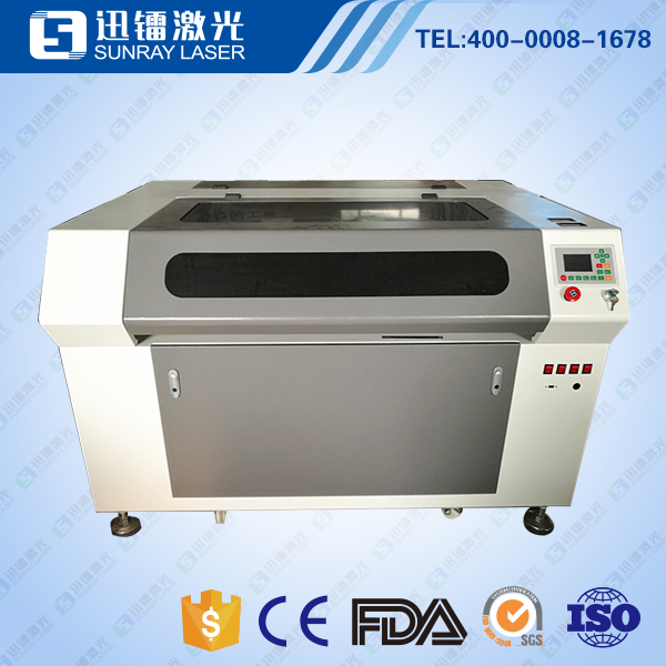 acrylic laser engraving and crop cutting machine