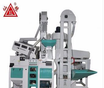 Combine paddy sheller rice sheller rice milling machine