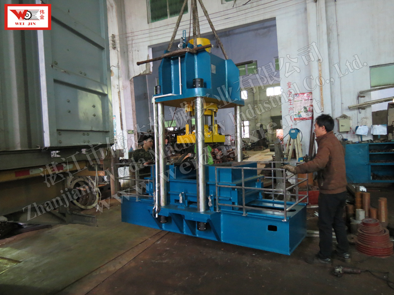 CAMEROON kneading rubber Baling Press Machine