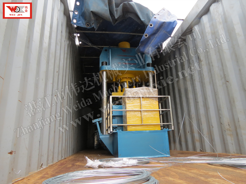 GUATEMALA kneading rubber Baling Press Machine