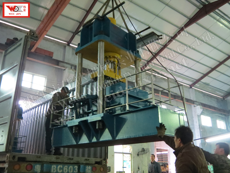 Automatikneading rubber Baling Press Machine