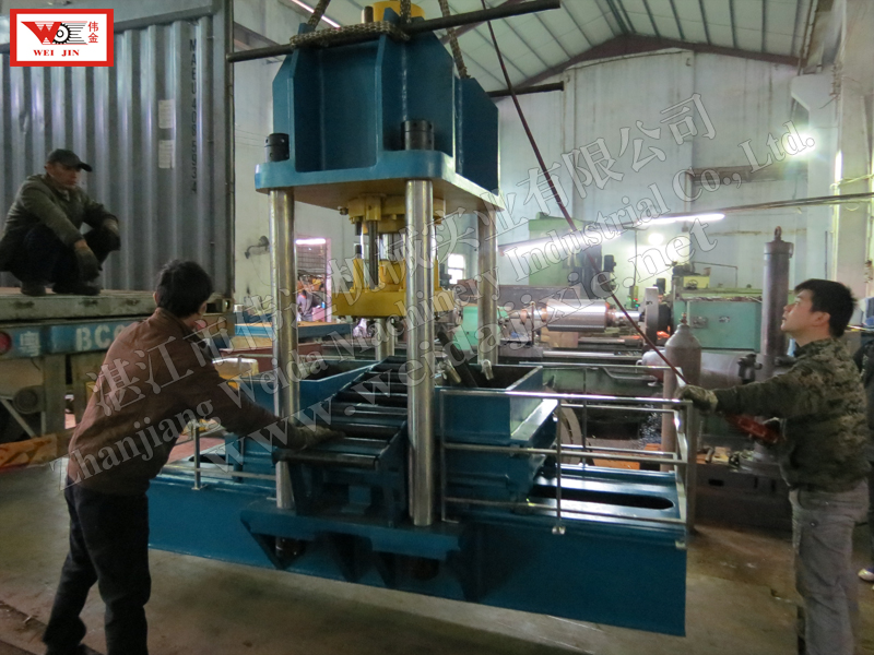 CHINA Composite rubber Hydraulic Baling Press