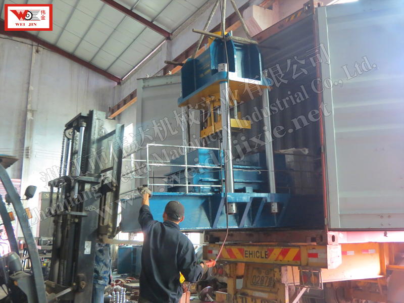 VIETNAM Composite rubber Hydraulic Baling Press