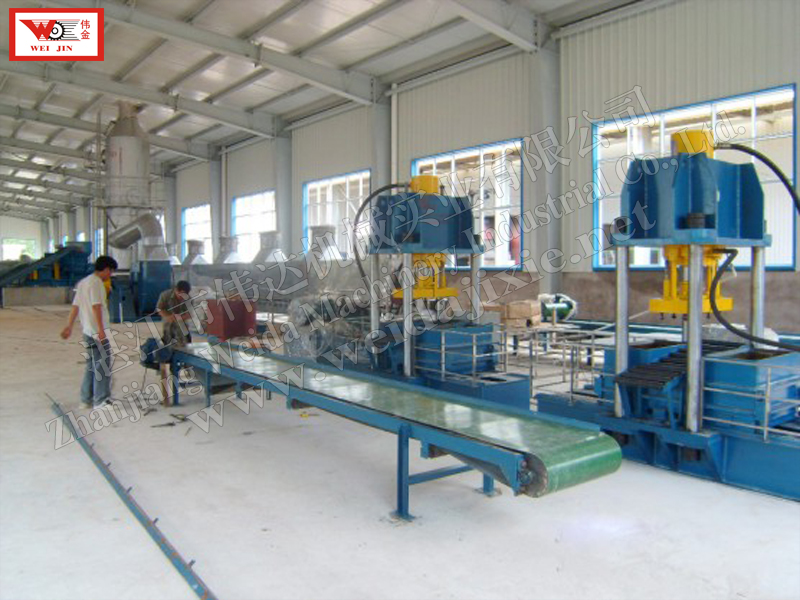 MALAWI Composite rubber Hydraulic Baling Press