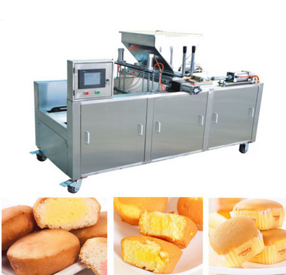 Complete Automatic Cake Maker Machine with factory price