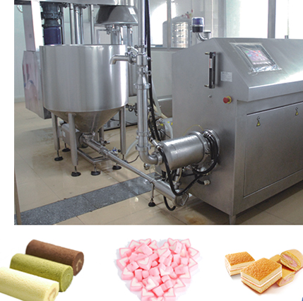 High Quality Three Layer Cake Production Line