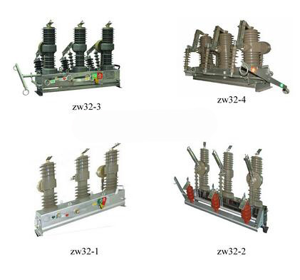 Automatic Reset Over-voltage Protection SF6 Circuit Breaker
