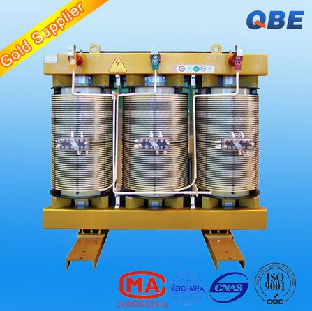 high voltage insulation no-encapsulated-winding distribution transformer