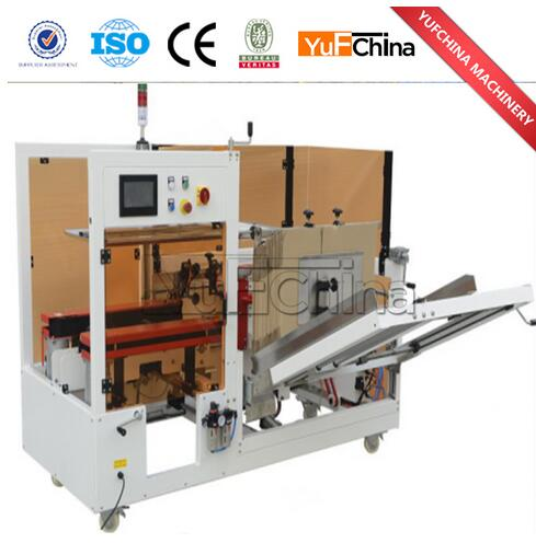 Automatic Carton Forming and Button Sealing Machine for Sale
