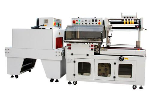 FL-5545TBC/M+SM-5030 Auto L Bar Heat Shrink Packaging Machine