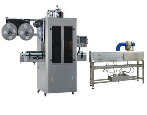 Automatic Plastic Bottle Capping Shrink Sleeve Labeling Machine