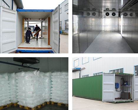 Containerized cold room