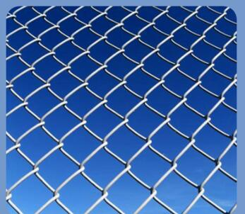 Garden Fence Popular Security Fence/Decorative Chain Link Mesh Fencing