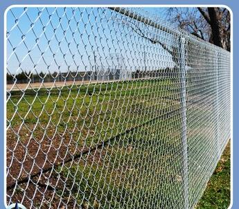 Outdoor Metal Square Chain Link Steel Mesh Fence