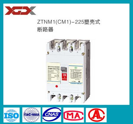 225A High performance moulded case Low Voltage Circuit Breaker