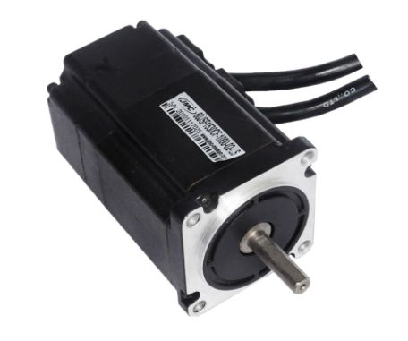 8 Pole Electric Blac Brushless Servo Motor