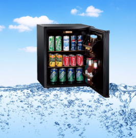 CE Passed Absorption System Mini Refrigerator Without Compressor 60W