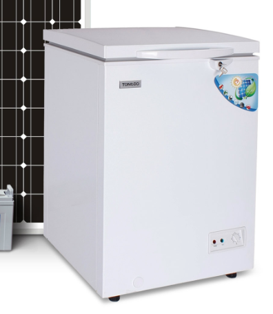 DC 12V 24V Solar Freezer Commercial Chest Freezer 93L