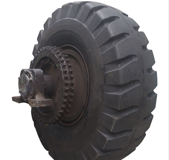 High Quality Resilient Polyurethan Solid Tire
