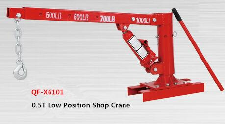 QF-X6101 Series Single Girder 0.5 ton Shop Crane Engine Crane