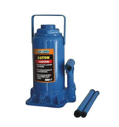 LD-J06032B 32 Ton Hydraulic Bottle Jack with Level/Bar Hoist Lift