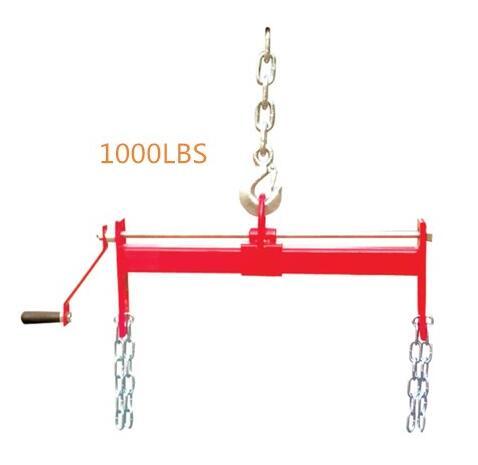 LD-E04100 1000lbs Load Leverler for Engine Hoist Shop Crane