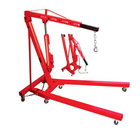 2ton Pneumatic/Hydraulic Shop Crane Engine Cherry Picker Hoist Lift