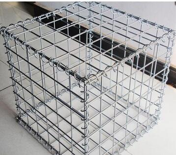 PVC coated Galvanized hexagonal woven wire mesh gabion box price