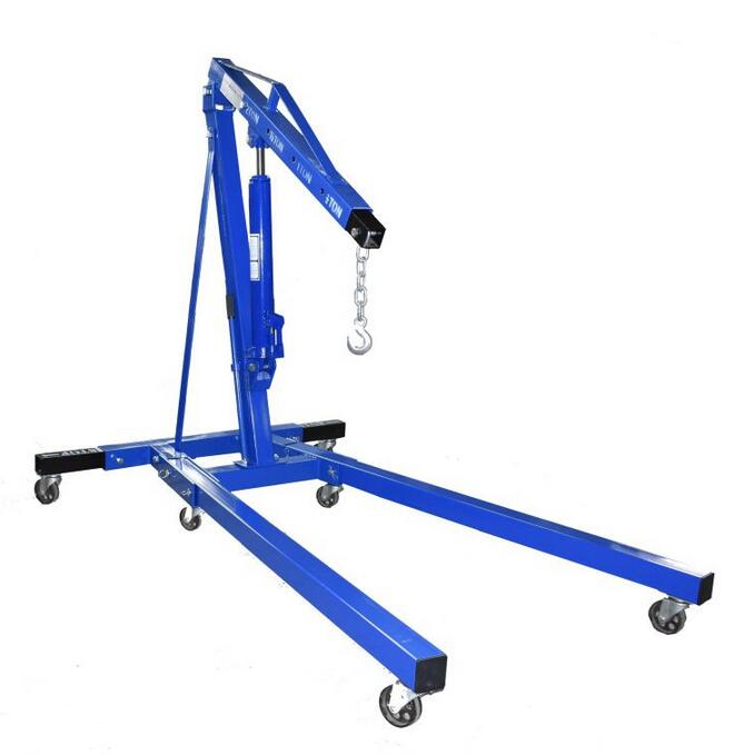 QF-D2110 Series Folding 2 Ton Shop Crane with Extra 2 Legs