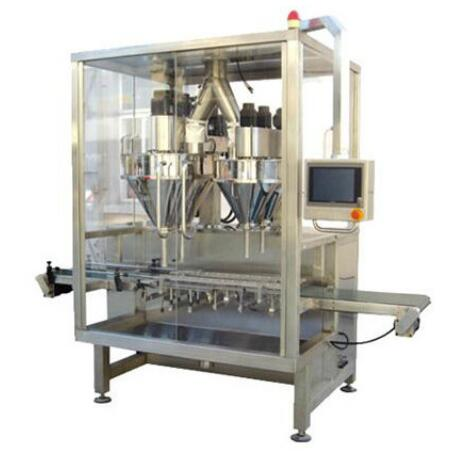 JCS--2C Automatic Milk Powder Can Filling Machine with High Speed