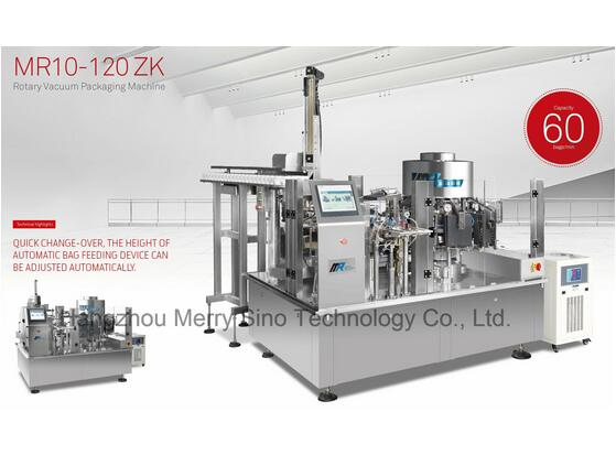 Mr10-120zk Series Automatic Rotary Vacuum Packing Machine