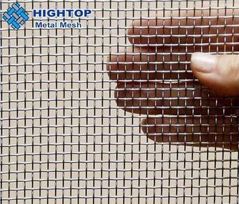 wholesale dutch weave 120 mesh titanium woven mesh