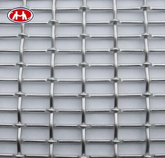 High tensile high carbon steel barbecue Grill Factory directly crimped woven mesh