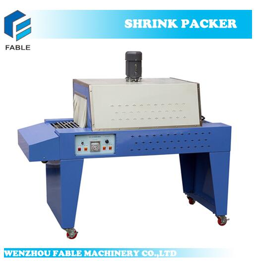 BS350 Semi-Auto Bottle PVC Film Shrink Packaging Machine