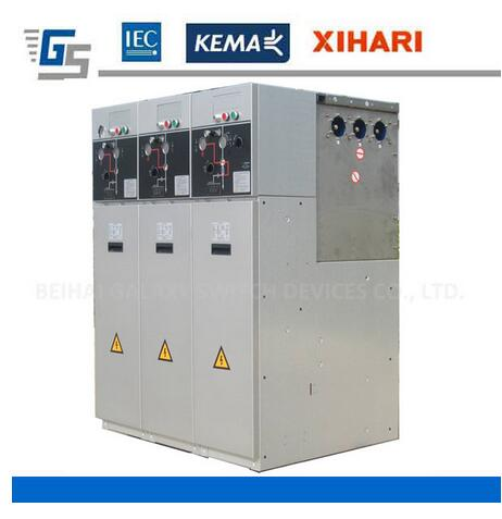 GLX24 Outdoor SF6 Ring Main Unit with Outdoor Power Substation