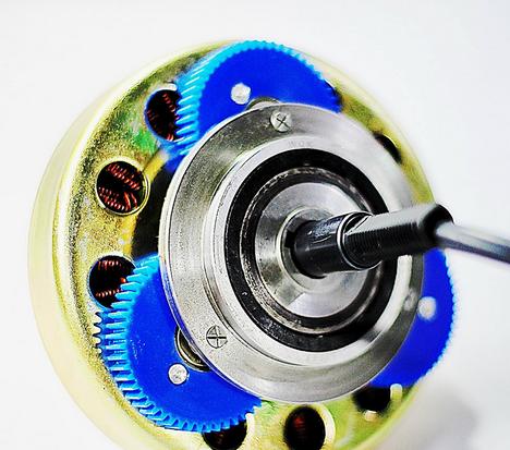 250W Brushless DC Hub Motor (53621HR-170-CD)