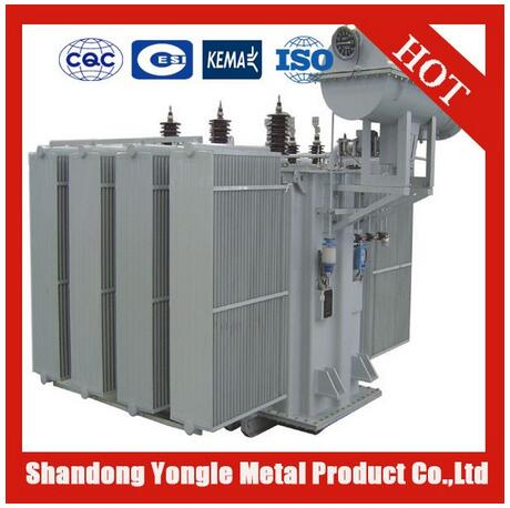 oil immersed three phase electrical power distribution transformer