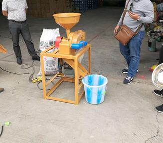 fresh 150-200kg husked brown rice milling machine
