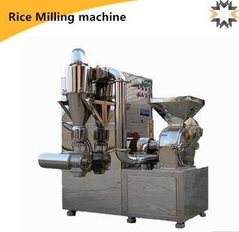 electric stainless steel rice herb chili disk milling machine