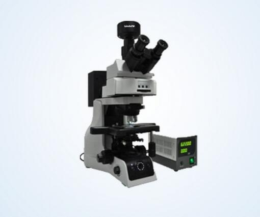 Research grade fluorescence microscope MF43 has 6-position epi fluorescence illumination