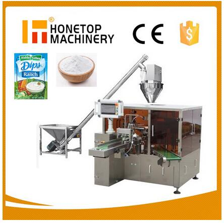 HT-8F/H  Rotary Type Automatic Coffee Powder Packing Machine
