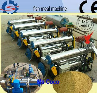 Fish meal machine for sausages,offals,shrimps,wet-handling feathers
