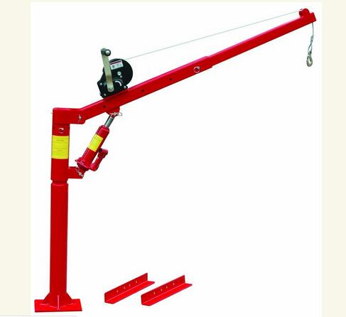 High Quality T62001W Series 0.5 Ton Pickup Truck Crane with Winch