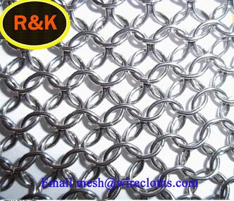 316 stainless steel ring woven mesh