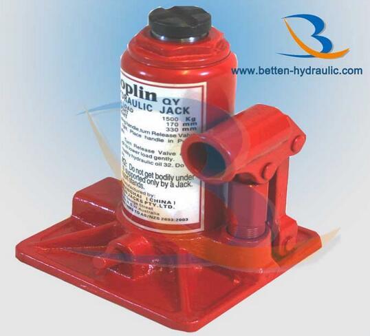High Quality Low Price 1-10T 20 Ton Hydraulic Garage Bottle Jack