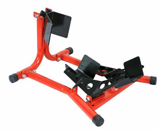 DL1105A Series Made in China Yellow Box Motorcycle Stand