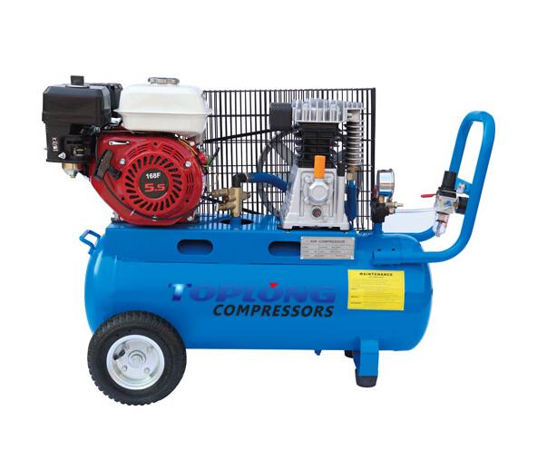 Gasoline Petrol Driven Air Compressor