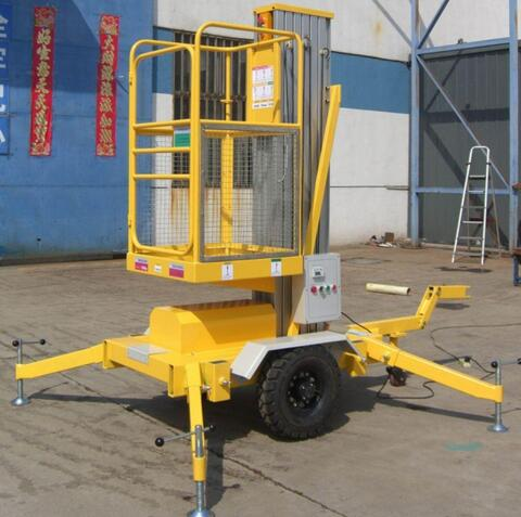 GTWY Series Jb/ISO Stable lifting Mast Aerial Working Platform