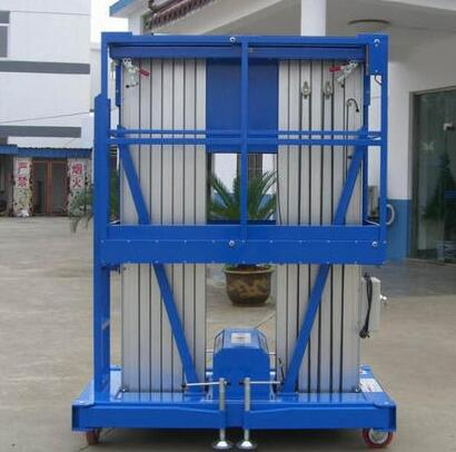 Hot Sale Hydraulic Double Mast Aluminum Alloy Work Platform Lift